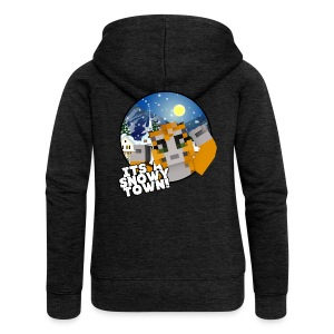 It's A Snowy Town - Teenagers's T-shirt  - Women's Premium Hooded Jacket