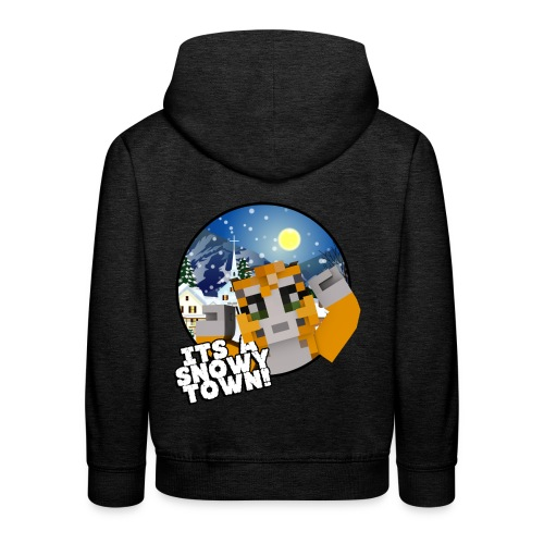 It's A Snowy Town - Teenagers's T-shirt  - Kids' Premium Hoodie