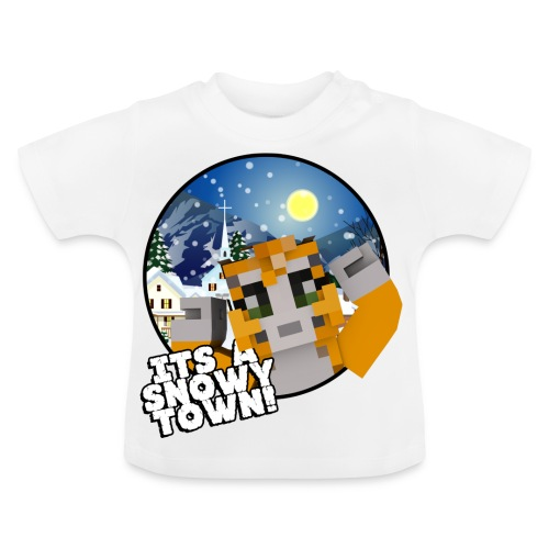 It's A Snowy Town - Teenagers's T-shirt  - Baby T-Shirt