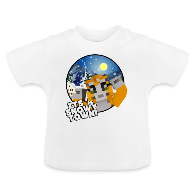 It's A Snowy Town - Teenagers's T-shirt