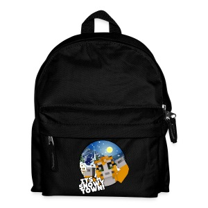 It's A Snowy Town - Teenagers's T-shirt  - Kids' Backpack