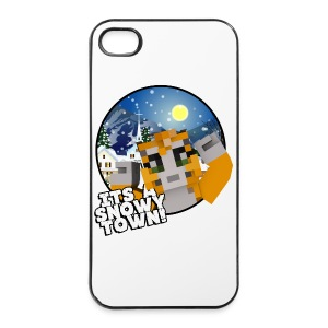 It's A Snowy Town - Teenagers's T-shirt  - iPhone 4/4s Hard Case