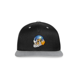 It's A Snowy Town - Teenagers's T-shirt  - Contrast Snapback Cap