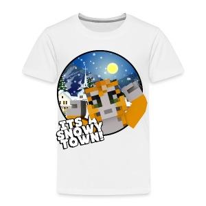 It's A Snowy Town - Teenagers's T-shirt  - Kids' Premium T-Shirt