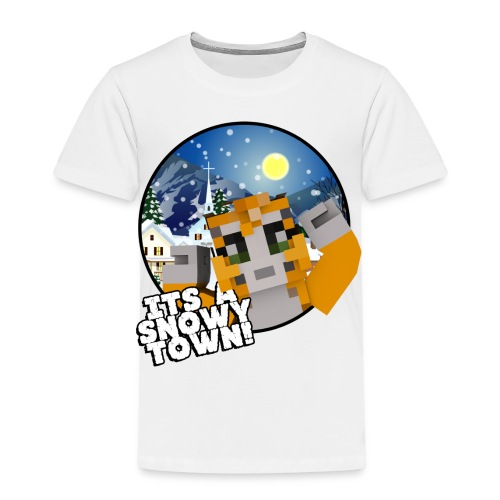 It's A Snowy Town - Teenagers's T-shirt  - Kids' Premium T-Shirt