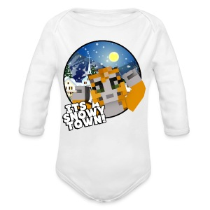 It's A Snowy Town - Teenagers's T-shirt  - Longlseeve Baby Bodysuit