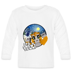 It's A Snowy Town - Teenagers's T-shirt  - Baby Long Sleeve T-Shirt