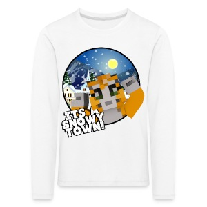 It's A Snowy Town - Teenagers's T-shirt  - Kids' Premium Longsleeve Shirt