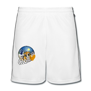 It's A Snowy Town - Teenagers's T-shirt  - Men's Football shorts