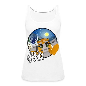 It's A Snowy Town - Teenagers's T-shirt  - Women's Premium Tank Top