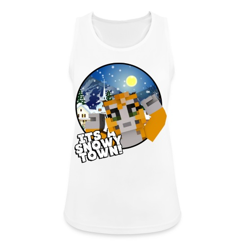 It's A Snowy Town - Teenagers's T-shirt  - Women's Breathable Tank Top