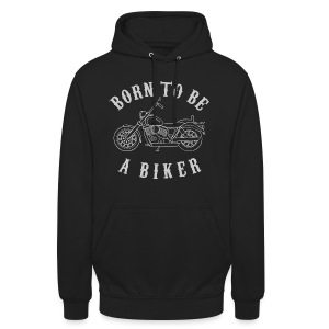 Born To Be A Biker   Body 1 - Unisex Hoodie