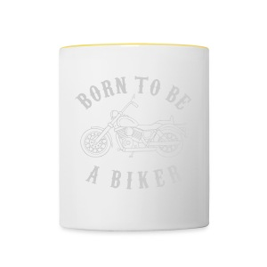 Born To Be A Biker   Body 1 - Tasse zweifarbig