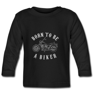 Born To Be A Biker   Body 1 - Baby Langarmshirt