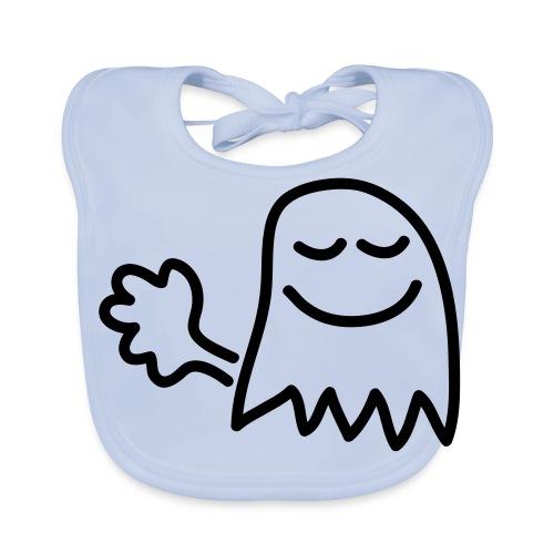 Pruttar är små spöken...(Pruttspöke) - Ekologisk babyhaklapp