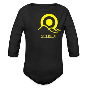 Sunrise With Text Polo (M)  - Longsleeve Baby Bodysuit