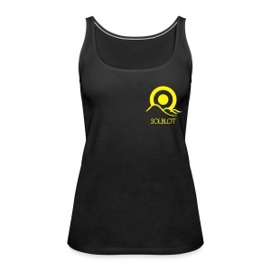 Sunrise With Text Polo (M)  - Women's Premium Tank Top