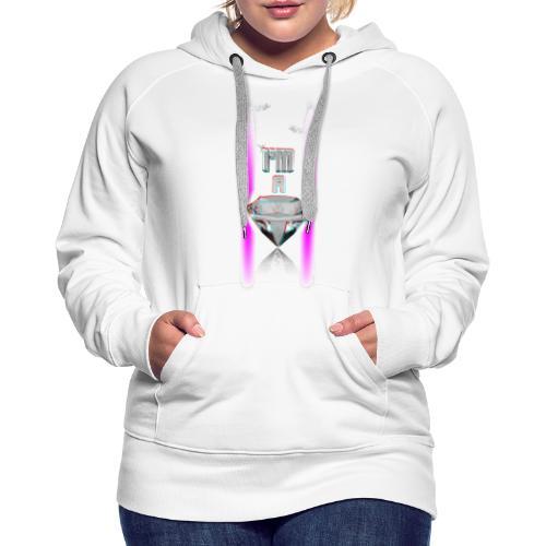 T SHIRT 3D  I'M A DIAMOND by Florian VIRIOT - Sweat-shirt à capuche Premium pour femmes