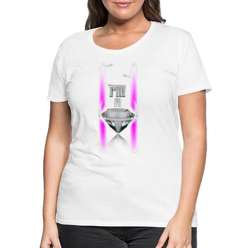 T SHIRT 3D  I'M A DIAMOND by Florian VIRIOT - T-shirt Premium Femme