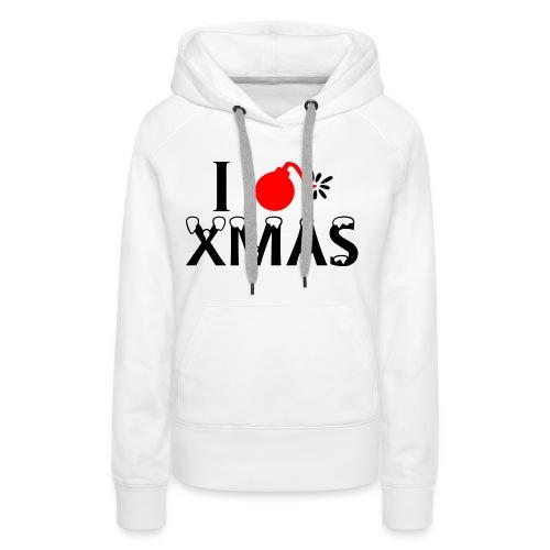 I Hate Xmas - Frauen Premium Hoodie