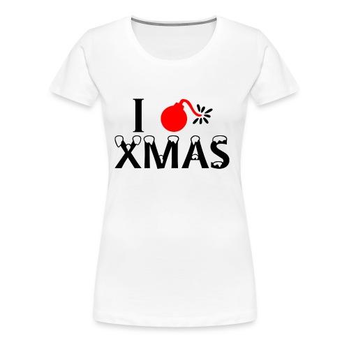 I Hate Xmas - Frauen Premium T-Shirt