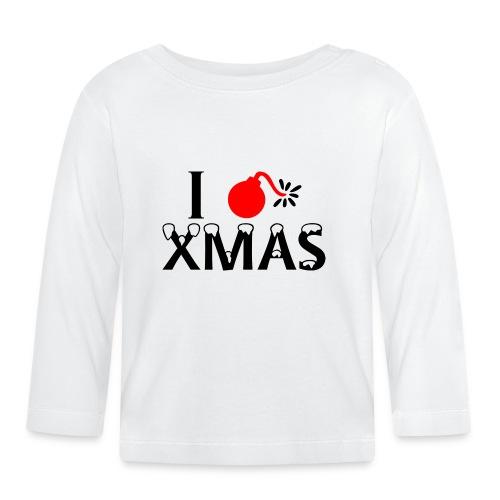I Hate Xmas - Baby Langarmshirt