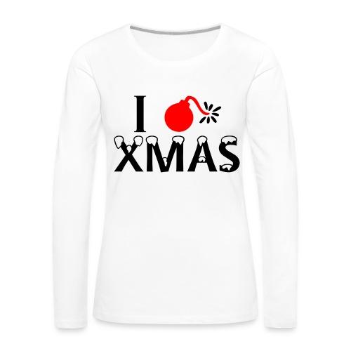 I Hate Xmas - Frauen Premium Langarmshirt