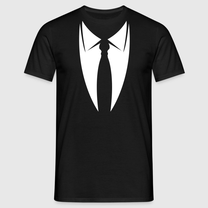 Collar with tie  T-Shirts - Men's T-Shirt
