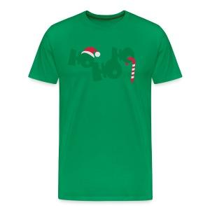 HO HO HO - Männer Premium T-Shirt