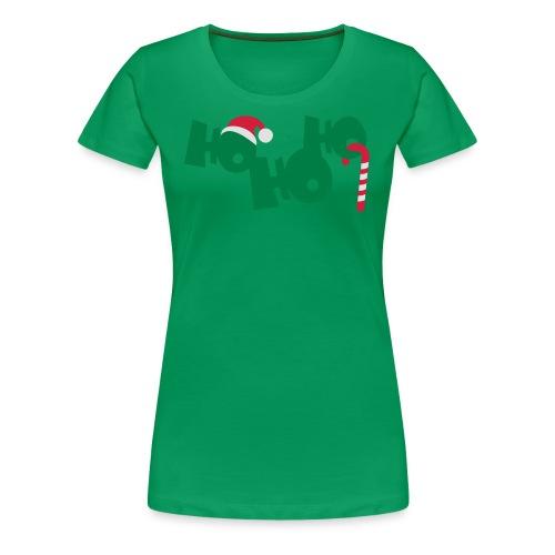 HO HO HO - Frauen Premium T-Shirt