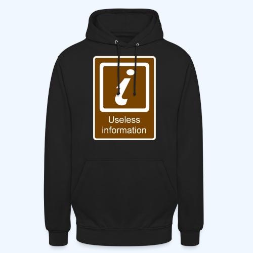 Useless Information - Unisex Hoodie