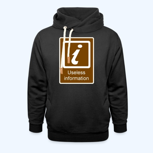 Useless Information - Shawl Collar Hoodie