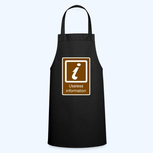 Useless Information - Cooking Apron