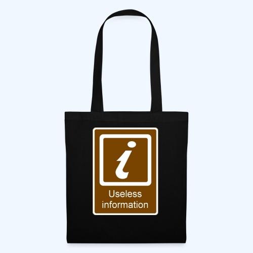 Useless Information - Tote Bag