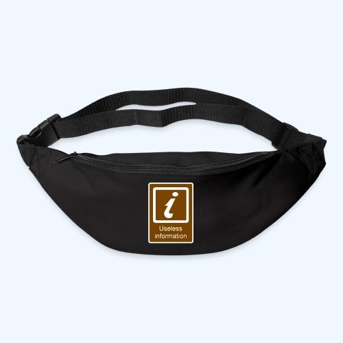 Useless Information - Bum bag