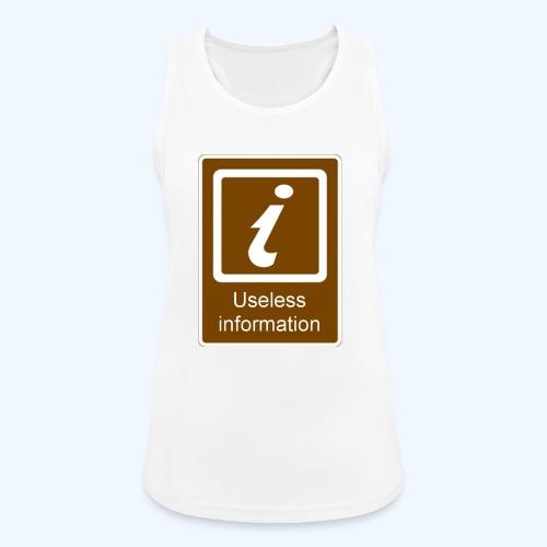 Useless Information - Women's Breathable Tank Top