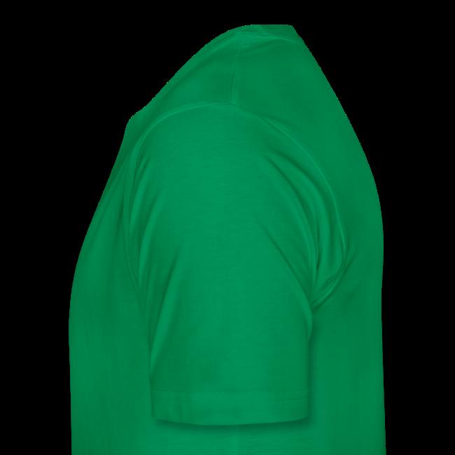 TSHIRT Mann custom hund grün