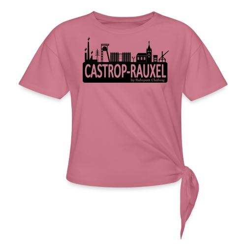 Skyline Castrop Rauxel - Frauen Kapuzenpullover - Knotenshirt