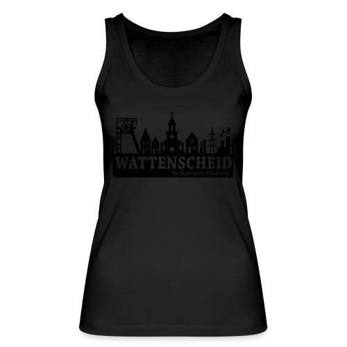 Skyline Wattenscheid mit RPC Logo auf Rücken - Frauen Bio Tank Top von Stanley & Stella