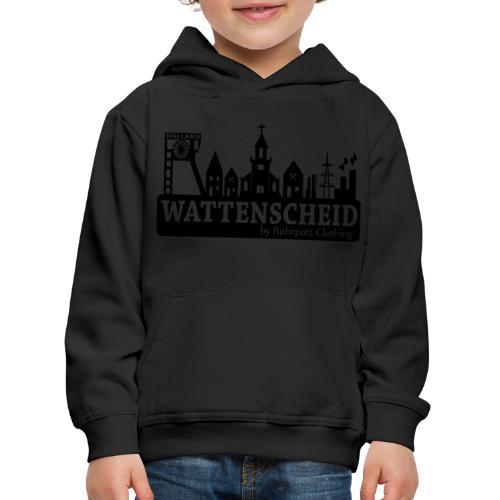 Skyline Wattenscheid mit RPC Logo auf Rücken - Kinder Premium Hoodie