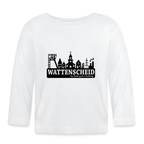 Skyline Wattenscheid mit RPC Logo auf Rücken - Baby Langarmshirt