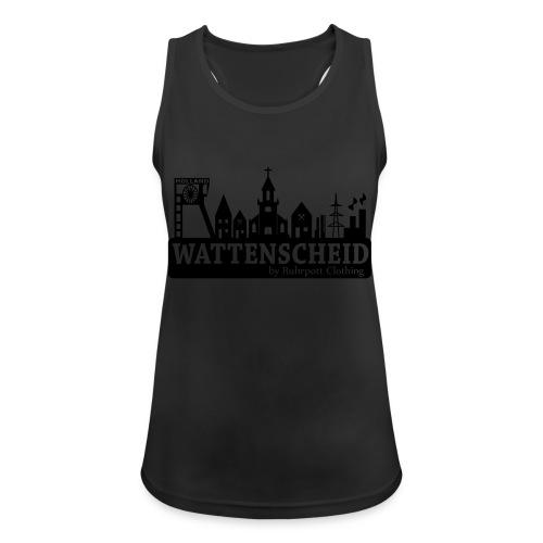 Skyline Wattenscheid mit RPC Logo auf Rücken - Frauen Tank Top atmungsaktiv