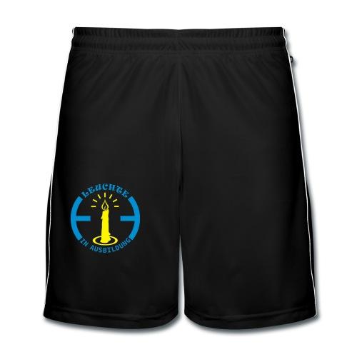 Leuchte in Ausbildung - Männer Fußball-Shorts
