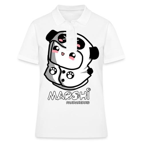 Marshi Panda Hoodie by Chosen Vowels - Shirt Girls - Frauen Polo Shirt