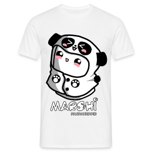 Marshi Panda Hoodie by Chosen Vowels - Shirt Girls - Männer T-Shirt