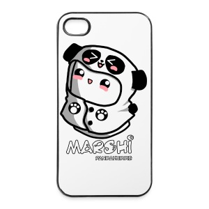 Marshi Panda Hoodie by Chosen Vowels - Shirt Girls - iPhone 4/4s Hard Case