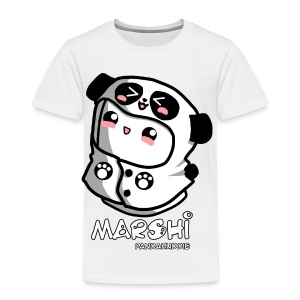 Marshi Panda Hoodie by Chosen Vowels - Shirt Girls - Kinder Premium T-Shirt