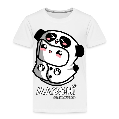 Marshi Panda Hoodie by Chosen Vowels - Shirt Girls - Kinder Premium T-Shirt