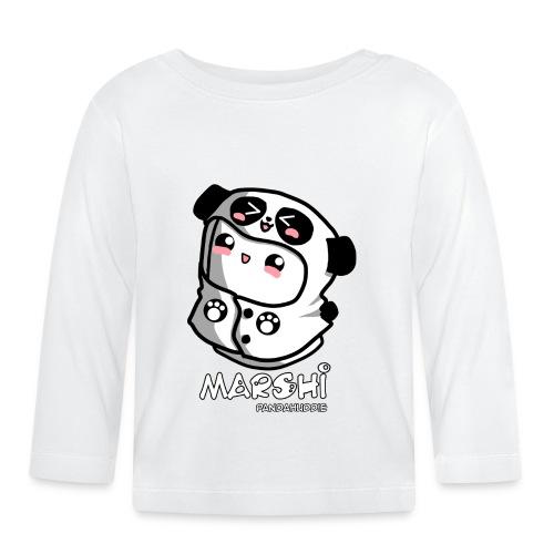 Marshi Panda Hoodie by Chosen Vowels - Shirt Girls - Baby Langarmshirt