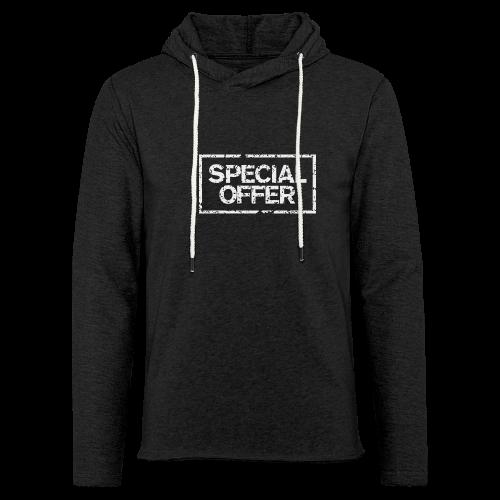 Special Offer T-Shirt (Herren Schwarz Weiß) - Leichtes Kapuzensweatshirt Unisex